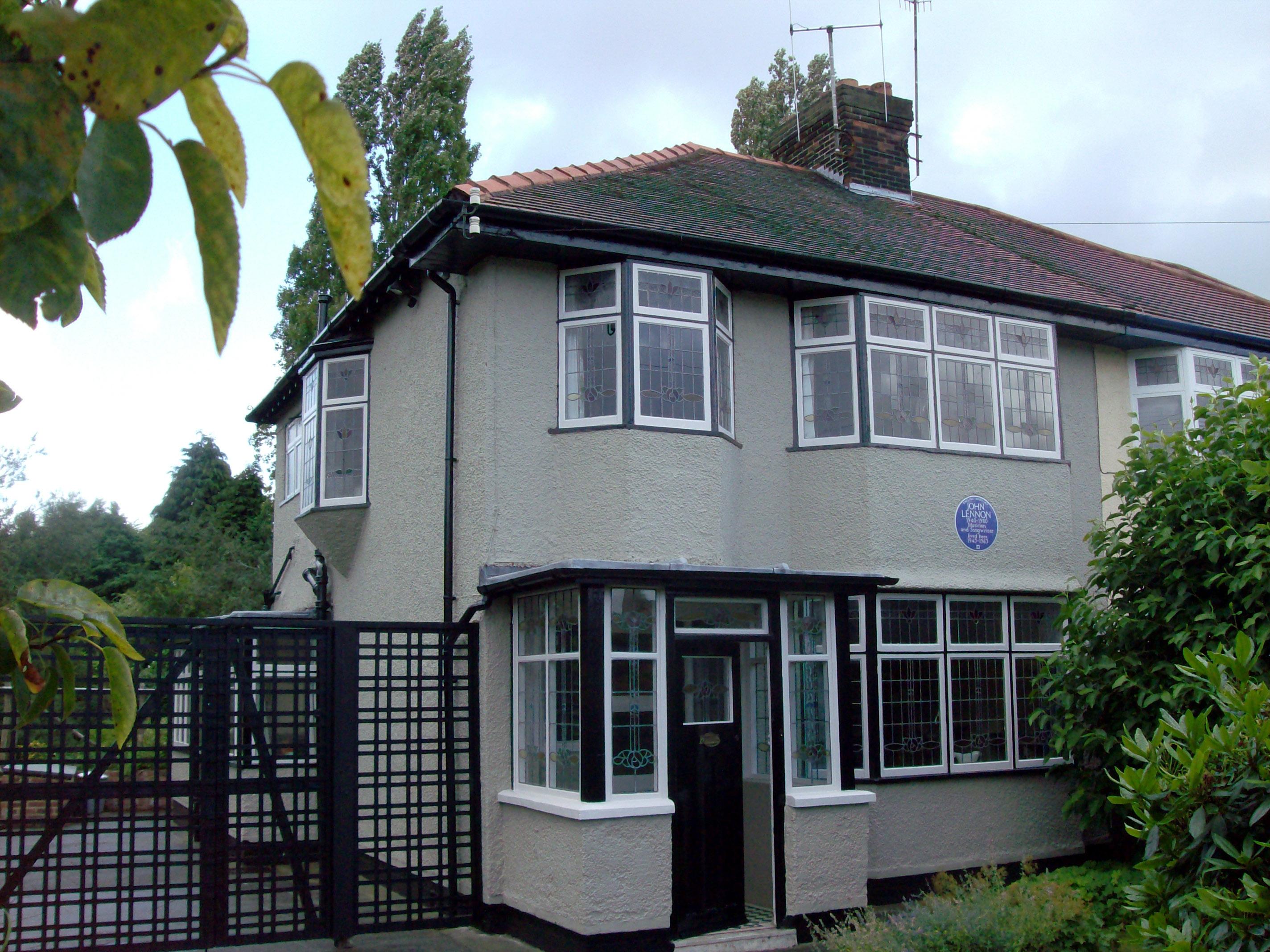 В Британии продается дом детства Джона Леннона