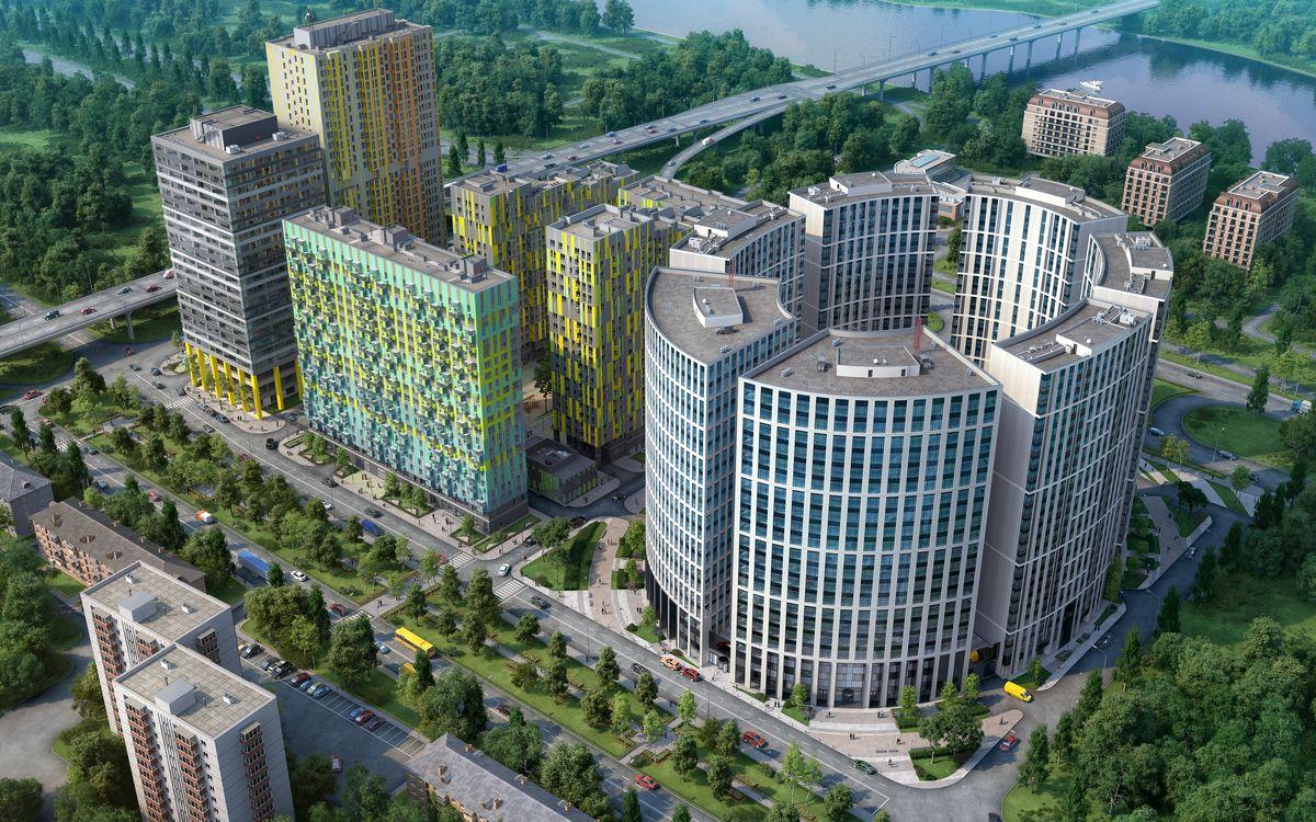 «Фили Град» - лучший жилой комплекс комфорт-класса Москвы