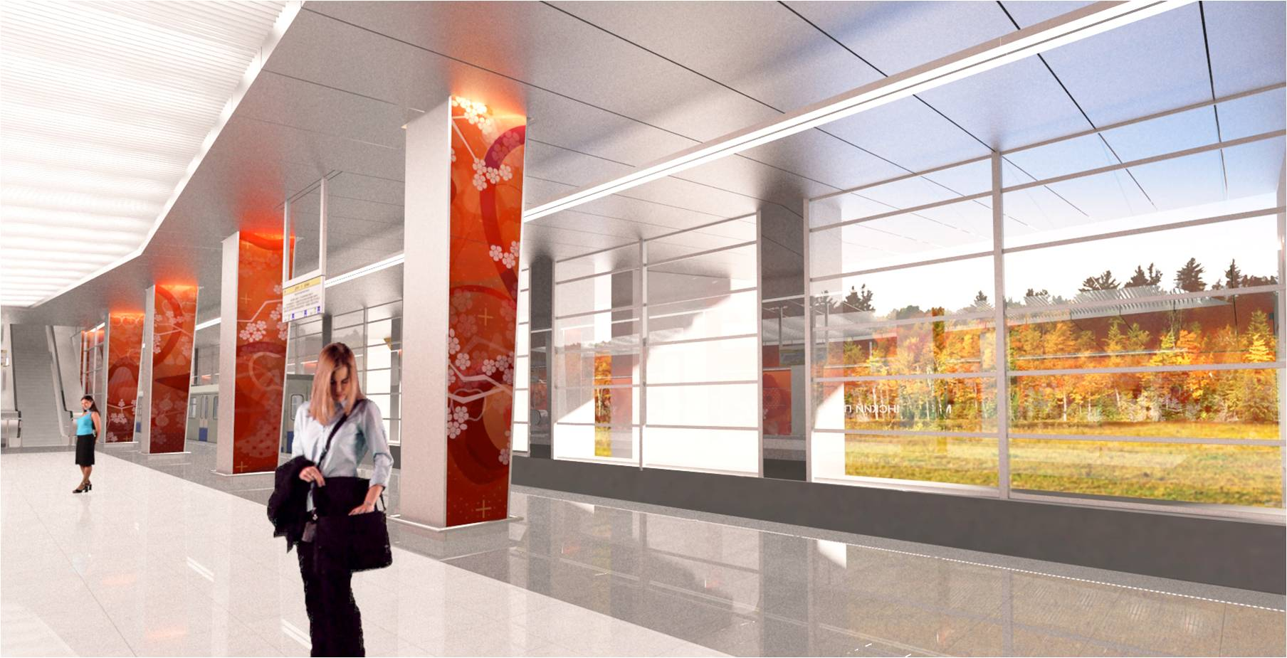 «Мичуринский проспект» станет первой полуподземной станцией столичной подземки