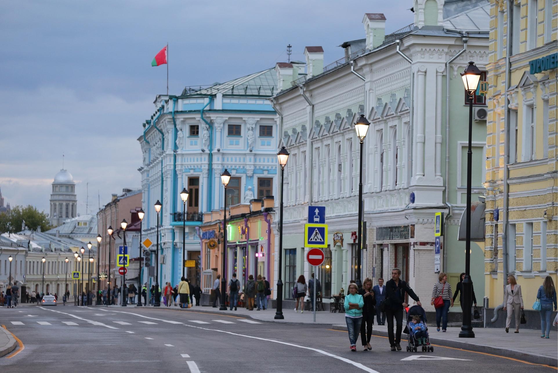 На программу «Моя улица» власти Москвы потратят порядка 90 млрд рублей