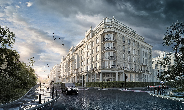 Спрос на «элитку» в столице сохраняется на уровне прошлого года