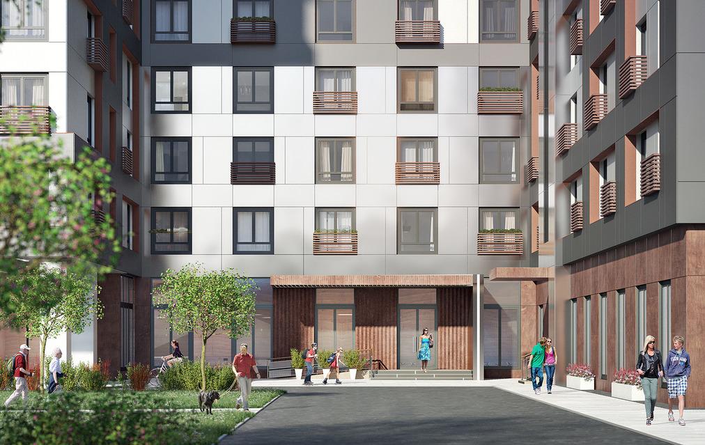 На «Марьиной Роще» начались продажи апартаментов в комплексе «Отражение»