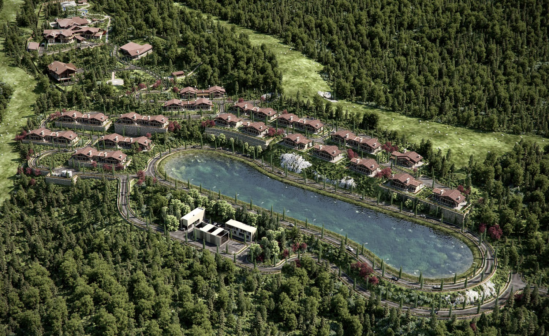 В Сочи ушли с молотка за 145 млн рублей 14 олимпийских коттеджей