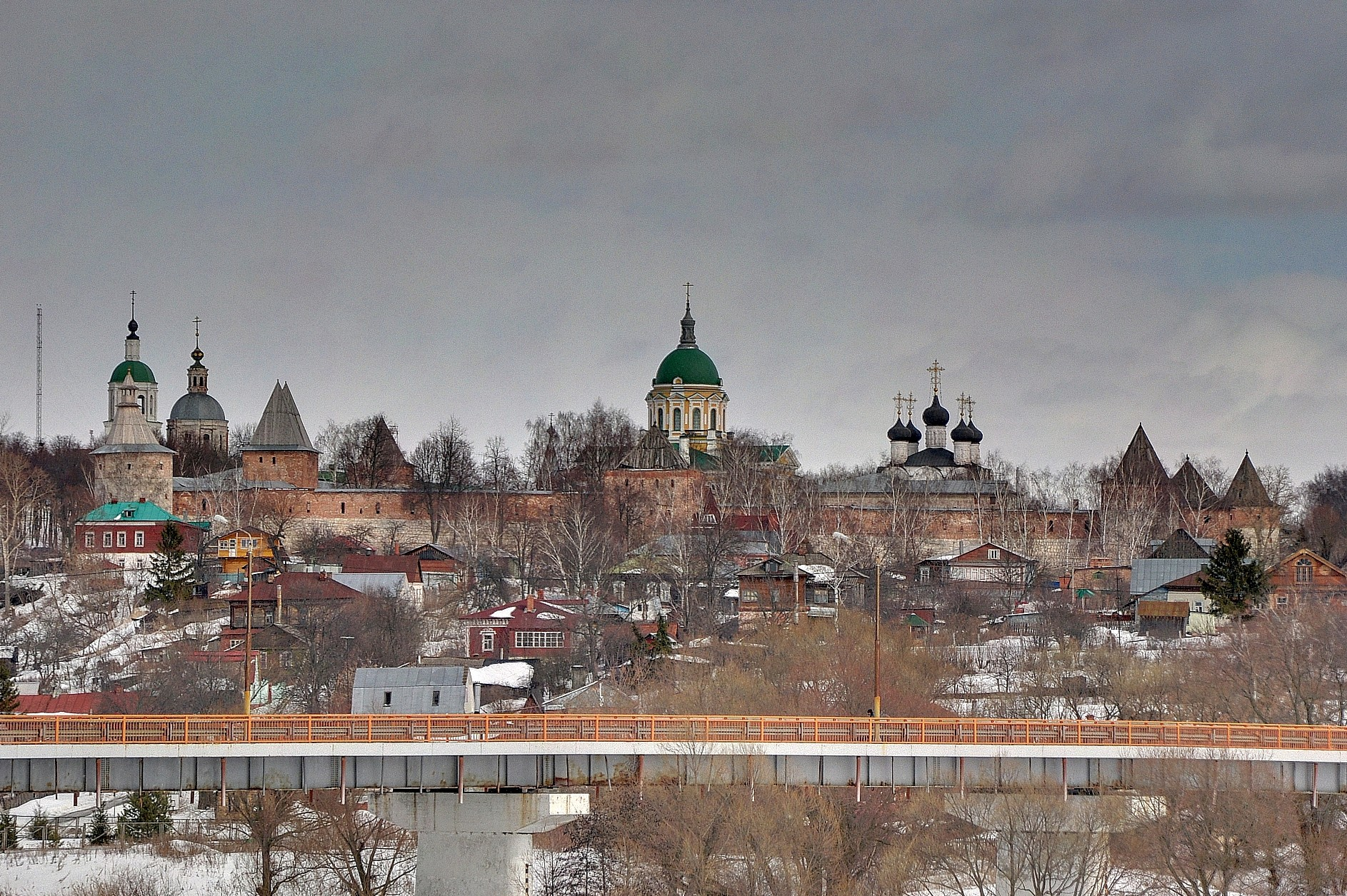 В исторических городах Подмосковья запретили строить высотки