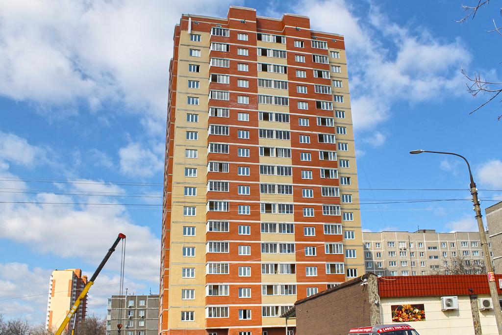 В новостройке на ул. Шаталова в Подольске  в продаже осталось 5 квартир