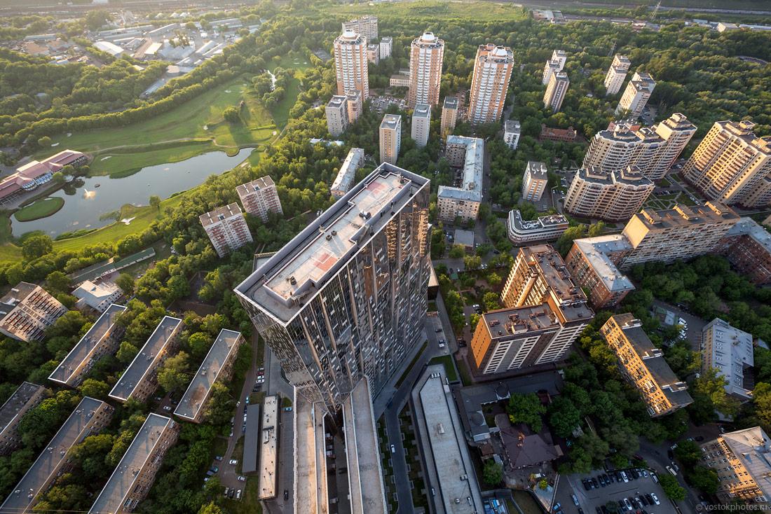 Более половины «старой» Москвы занимают зеленые насаждения