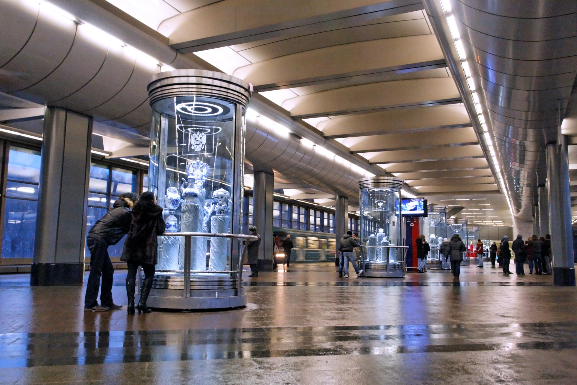 Миллиард рублей потратит московский метрополитен на ремонт фасадов 14 станций