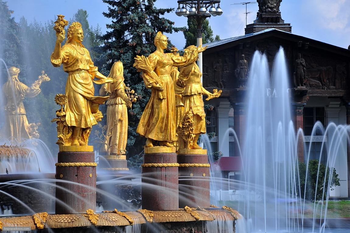 Сезон фонтанов в Москве стартует 28 апреля