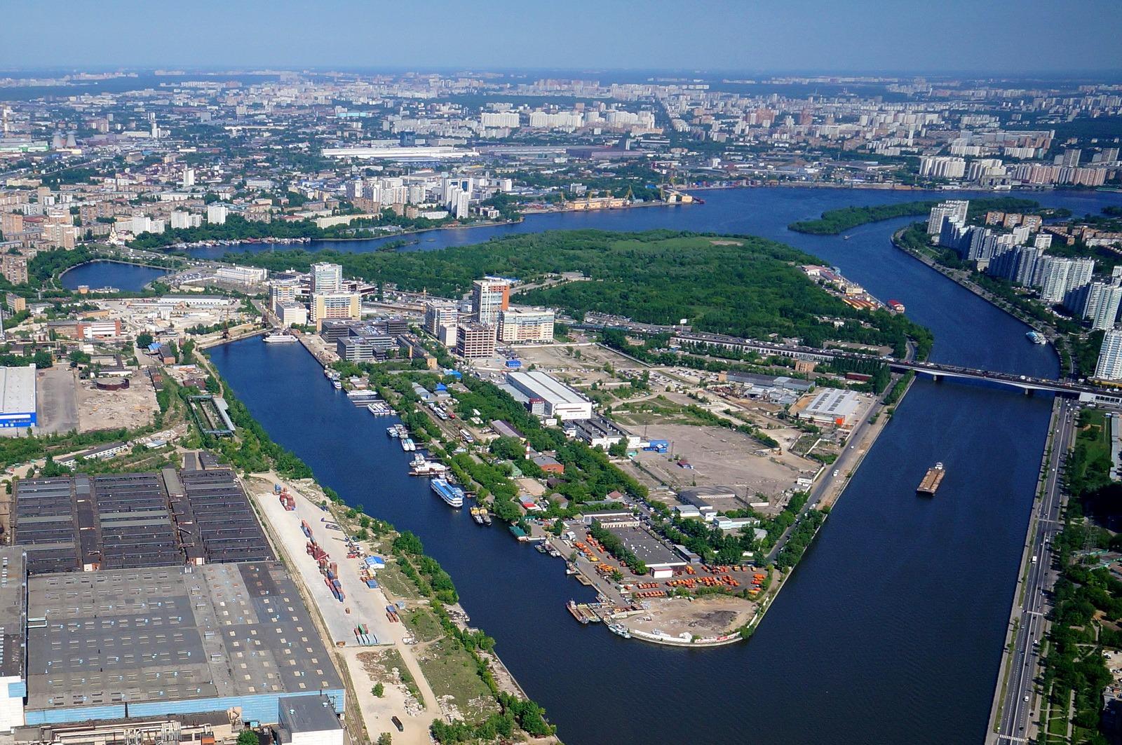 В рамках развития территории ЗИЛ на Москве-реке появятся водные маршруты