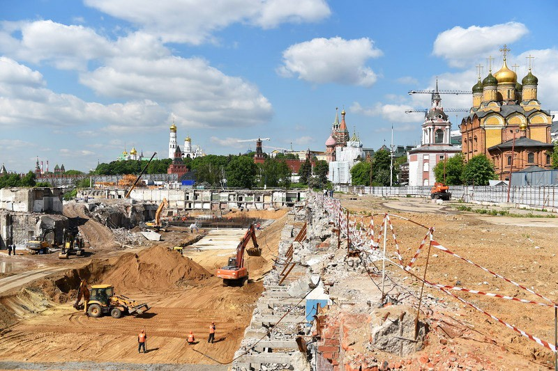 В центре Москвы обнаружены остатки старинной мостовой