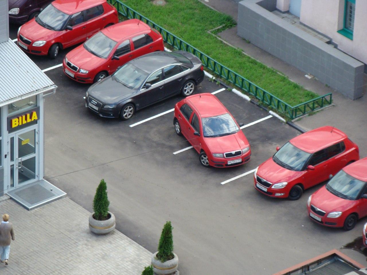 В Москве хотят организовать парковки для беременных