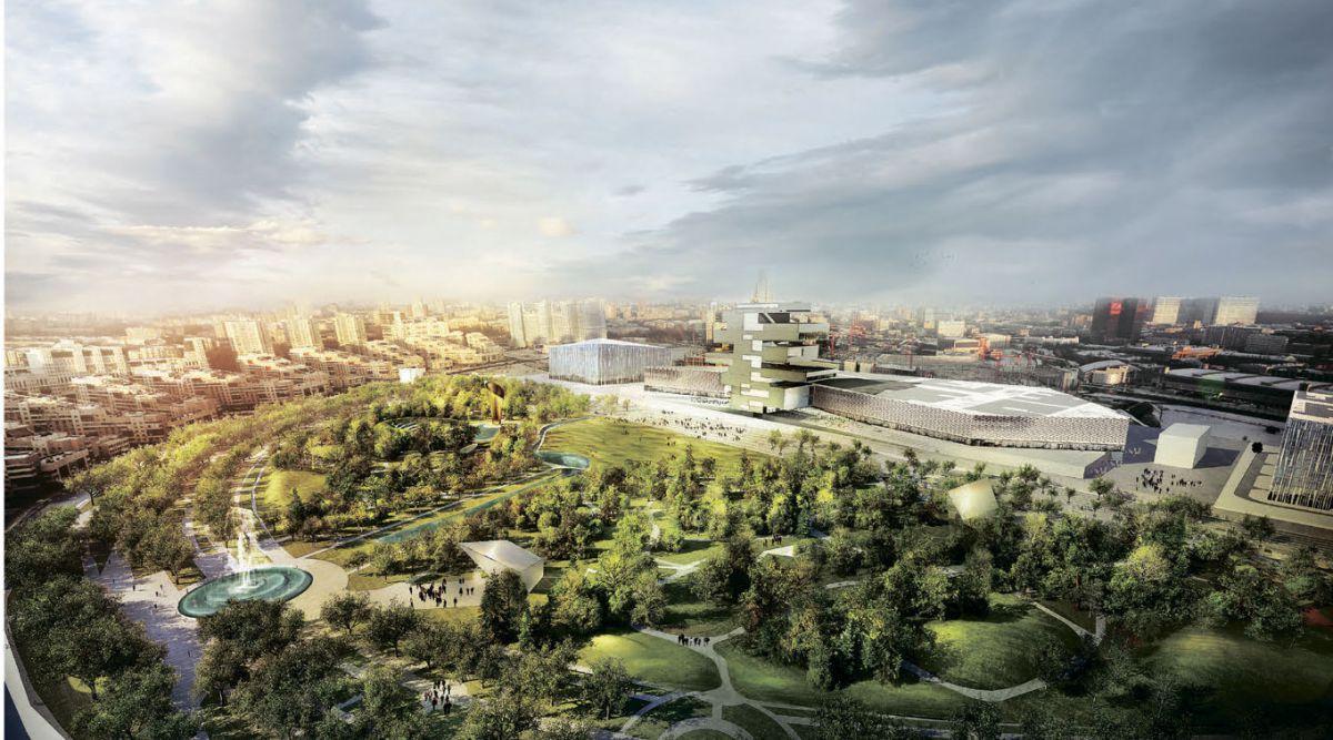 На создание парка на Ходынском поле выделят 500 млн рублей