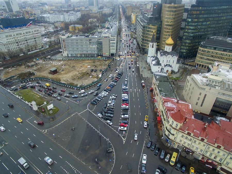 В этом году в столице благоустроят Площадь Тверской заставы
