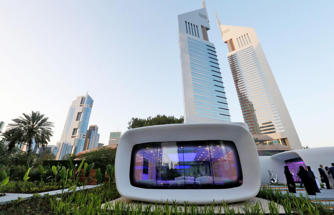 В ОАЭ открыли напечатанное на 3D-принтере здание
