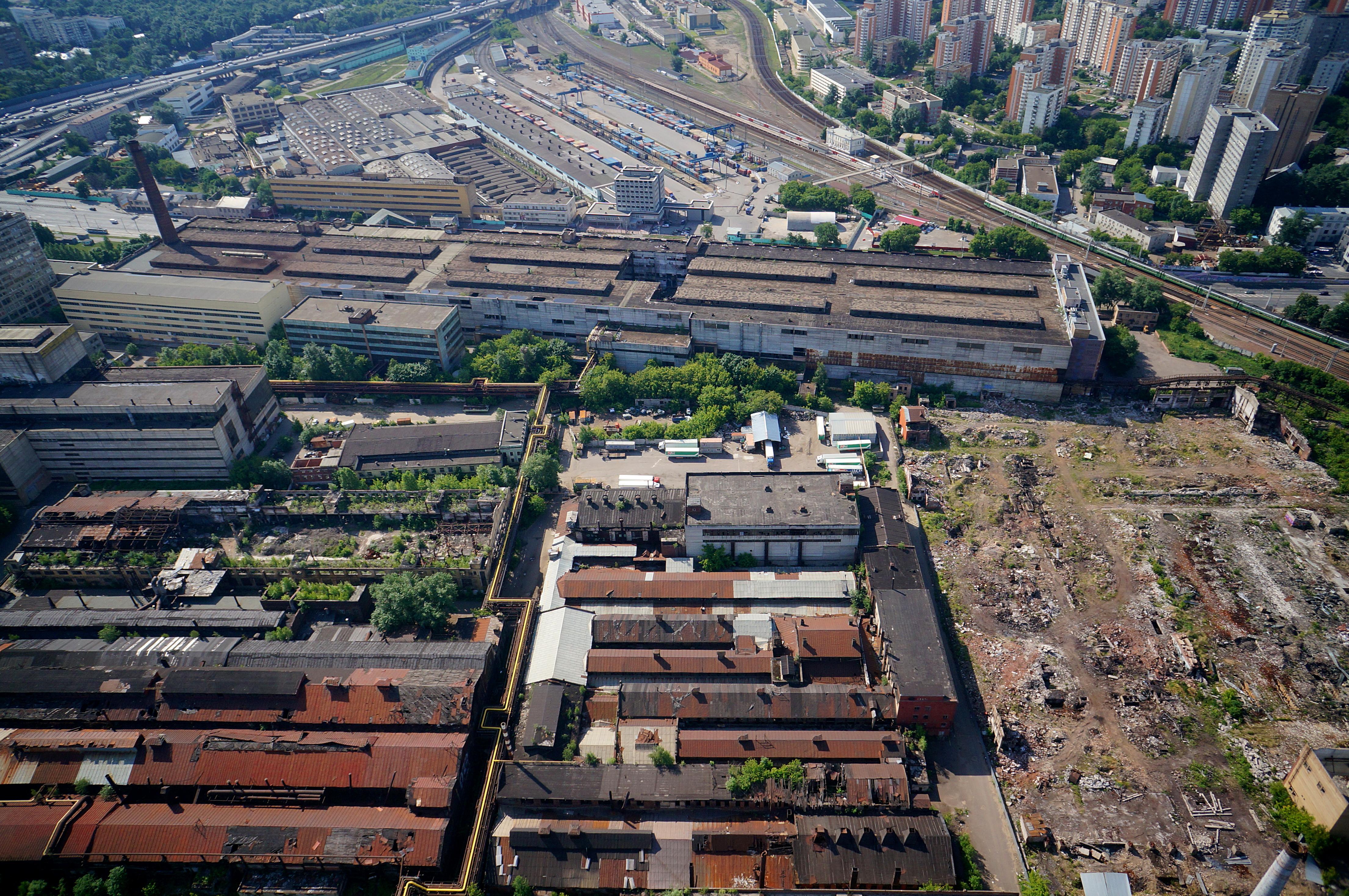 В Москве утвердят проекты реорганизации десяти промзон