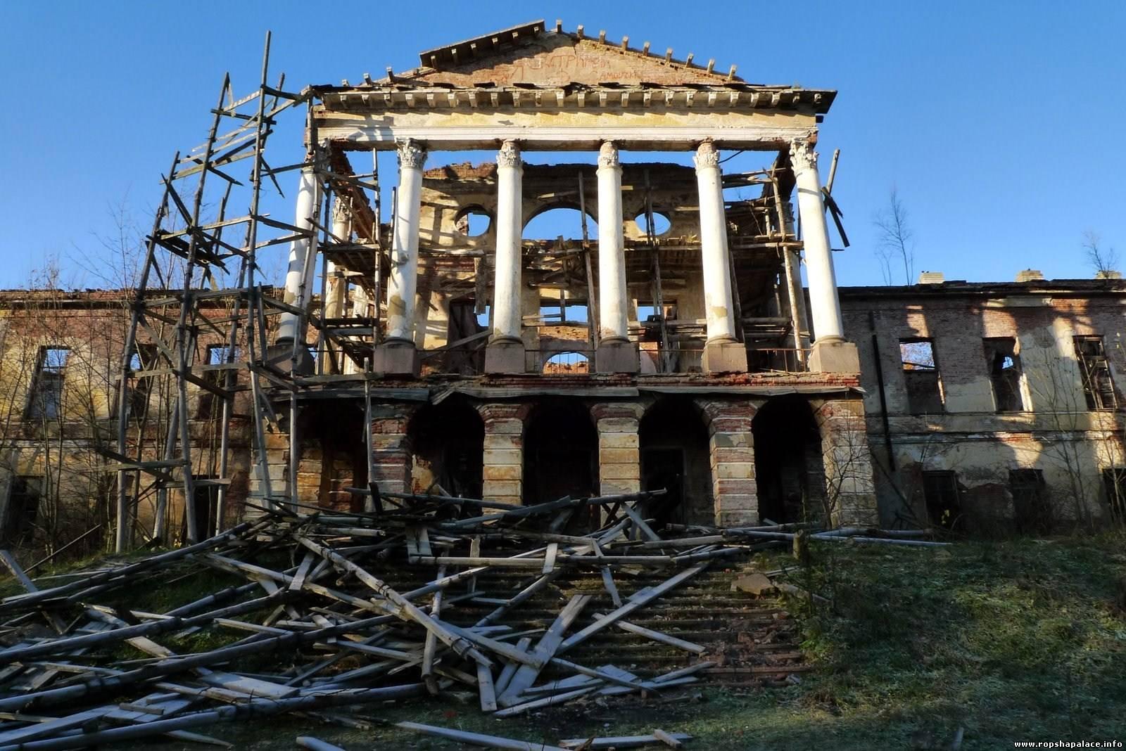 Старинные разрушенные усадьбы в России можно будет приватизировать
