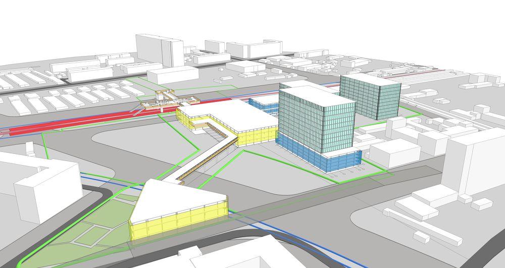 Большой жилой комплекс построят в рамках пересадочного узла «Новопесчаная»