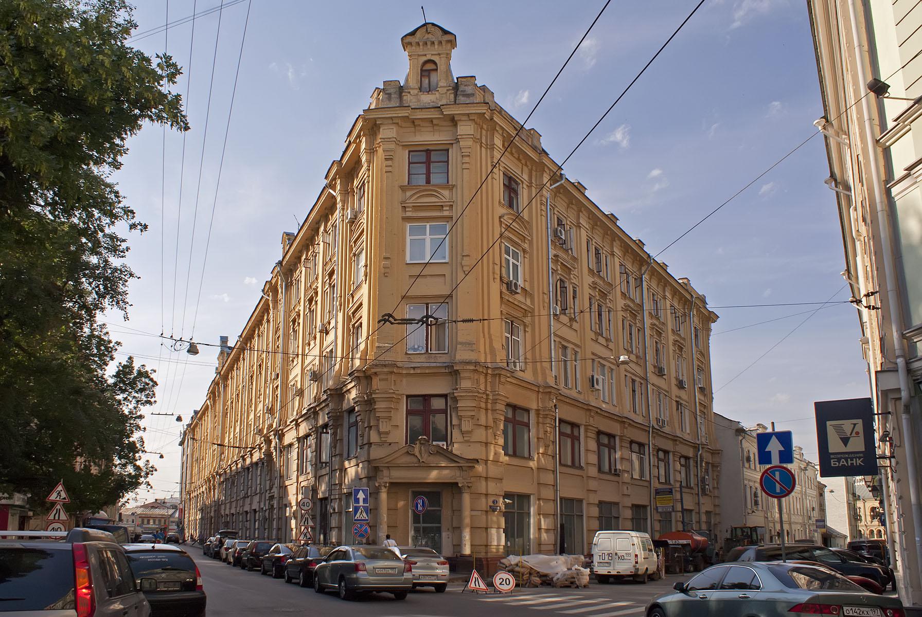 В Москве отреставрируют «Большую Сибирскую гостиницу»