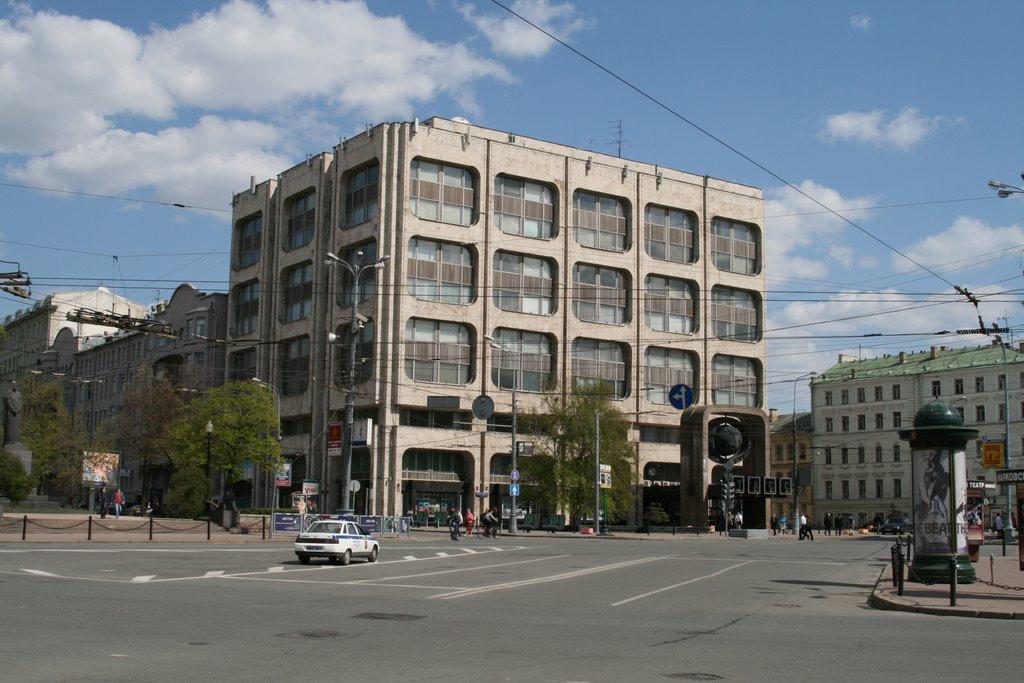 В центре Москвы благоустроят площадь у здания ТАСС