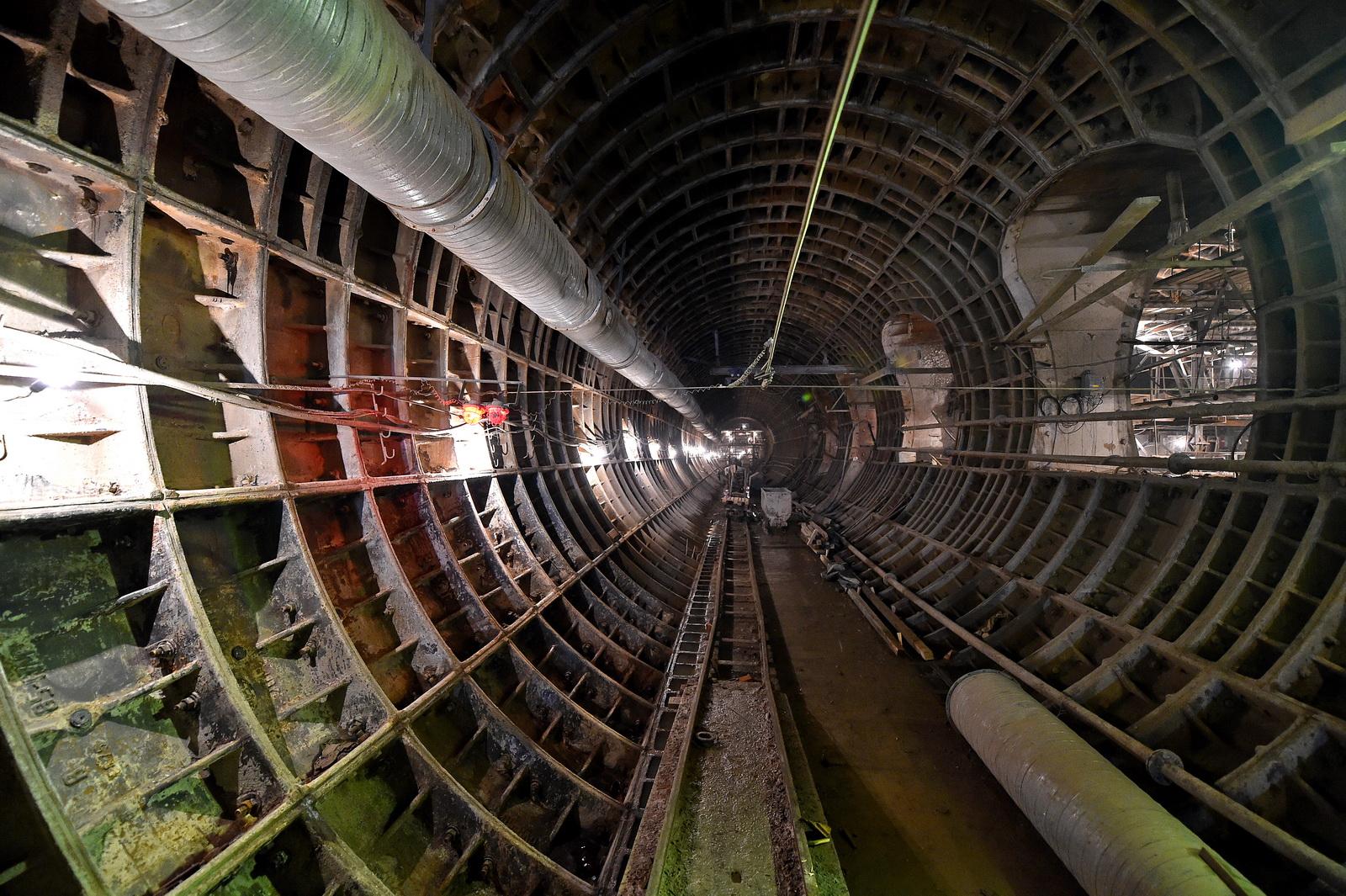 В этом году начнется строительство всех участков второго кольца московского метро