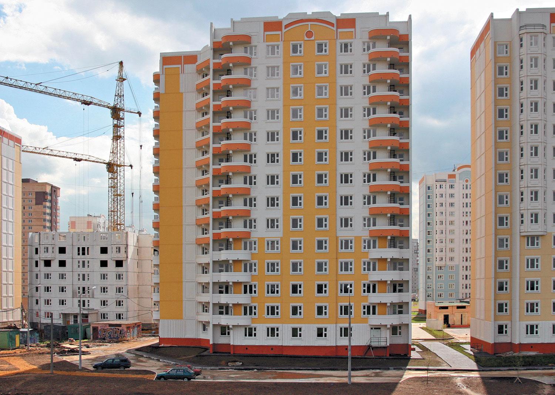 Треть подмосковных квартир раскупают москвичи