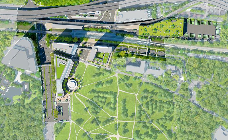 В составе пересадочного узла в Мытищах построят крупный торговый центр