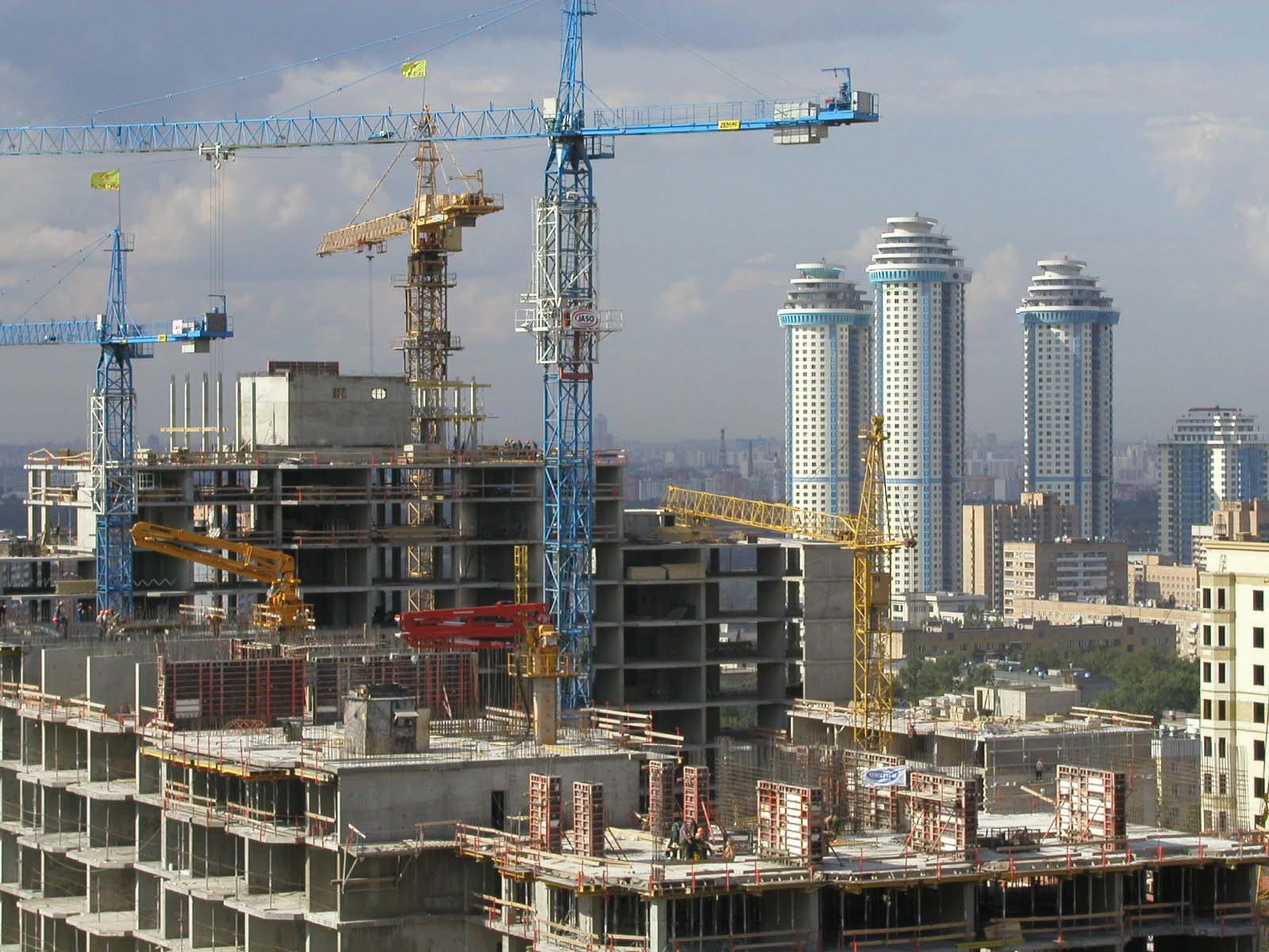 Москва вошла в ТОП-10 городов мира по вводу недвижимости