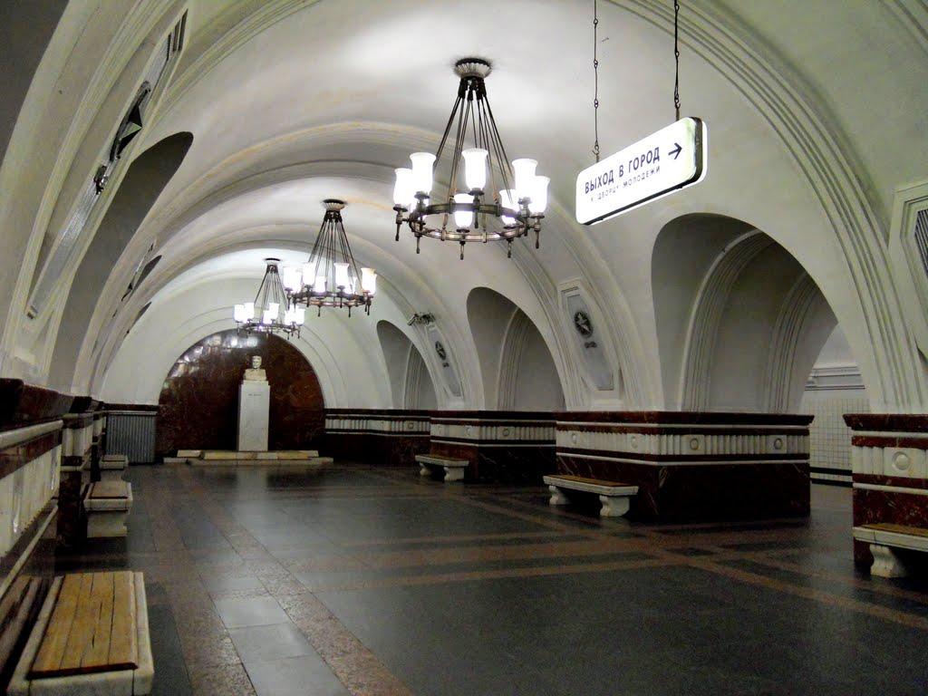 «Фрунзенскую» откроют раньше запланированного срока
