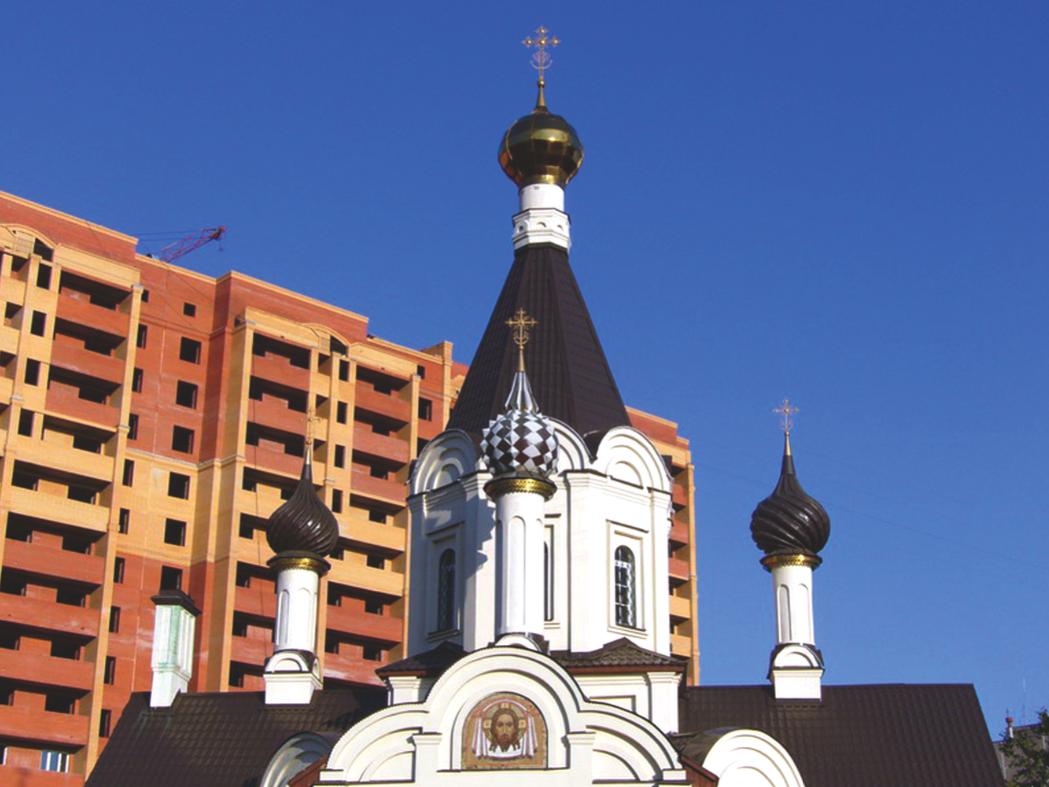 В столице появится больше церквей шаговой доступности
