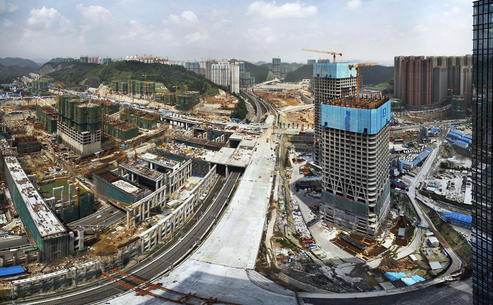 В Китае построят жилье для половины населения Земли