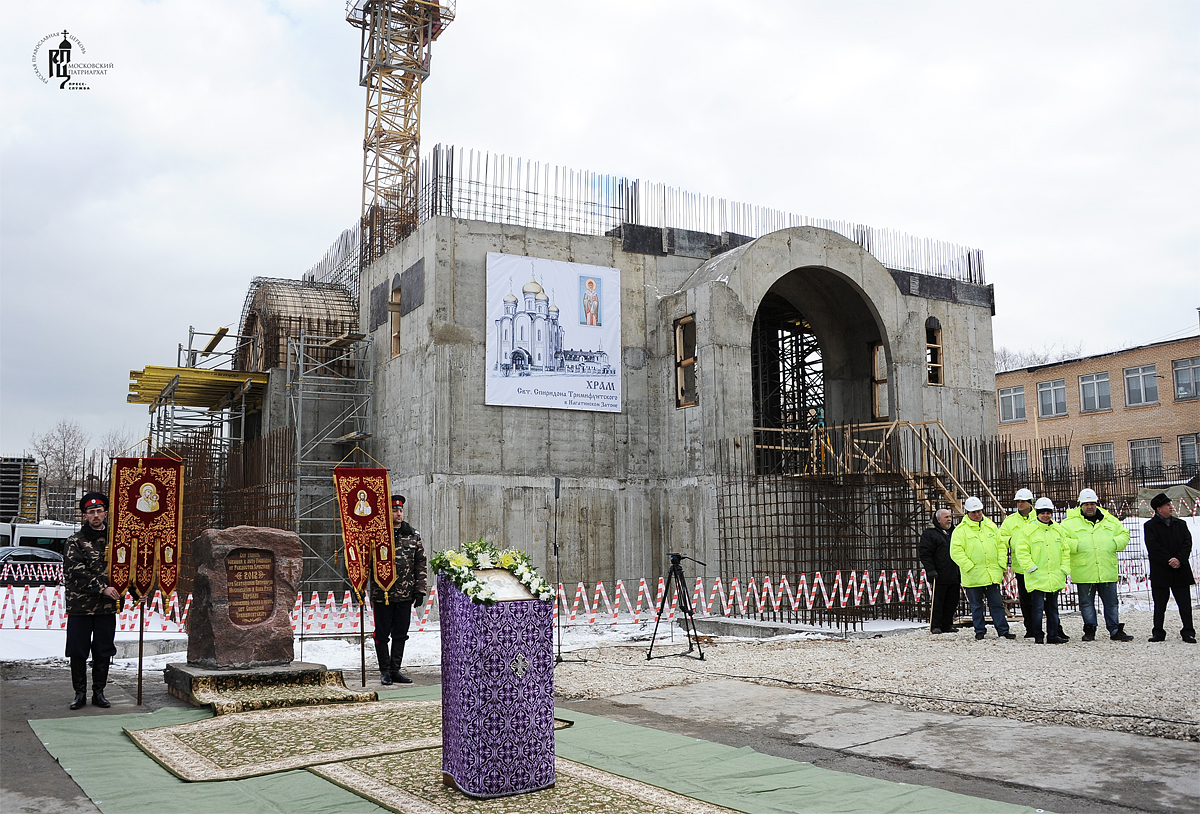 В Москве возведут полтысячи новых храмов