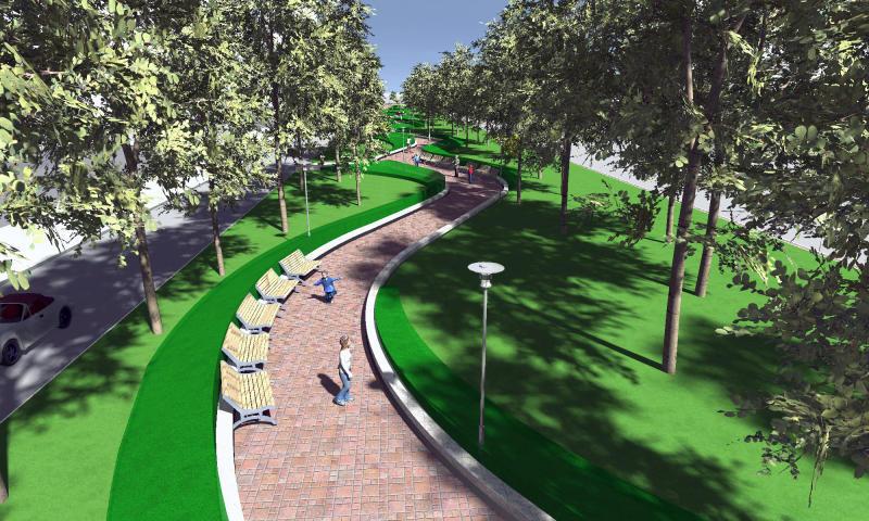 В этом году в Подмосковье появится 29 пешеходных зон