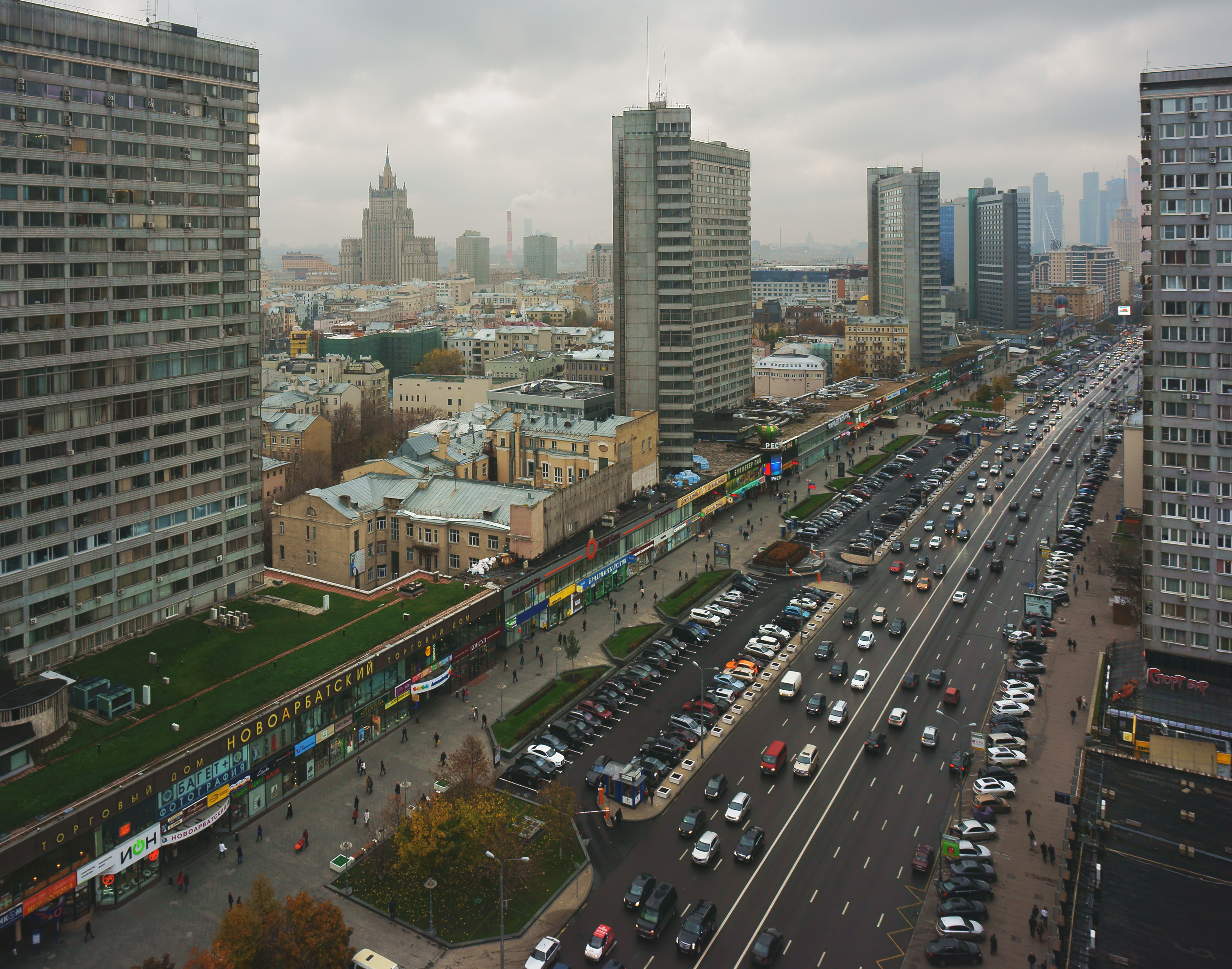 В центре столицы появятся узкие полосы для транспорта