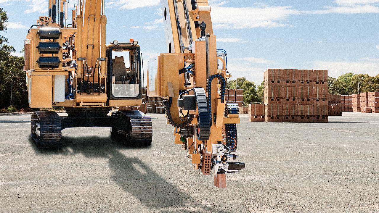 Австралийский робот строит дома за два дня