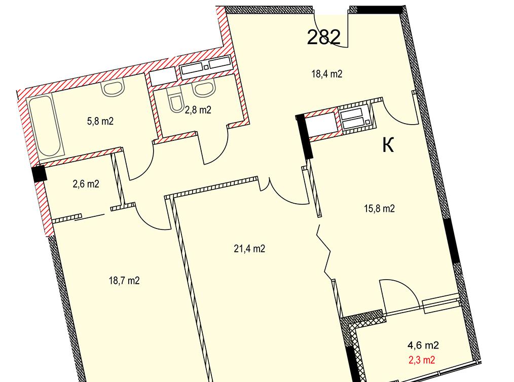Удобство планировки для покупателей важнее площади квартиры