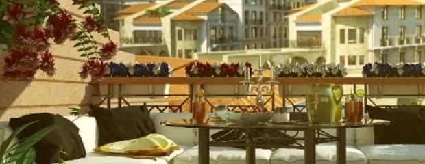 Свежий воздух: террасы и пентхаусы в элитных новостройках - Фото