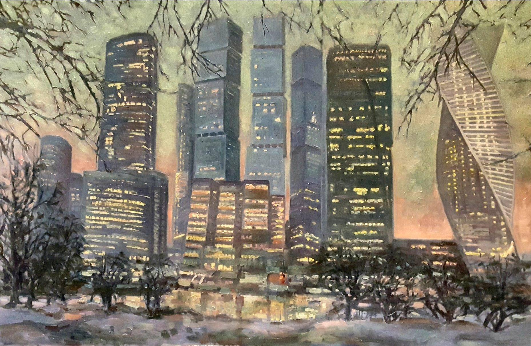 «Галс-Девелопмент» и арт-группа «Сезон» приглашают на выставку  «В городе М…Зима»