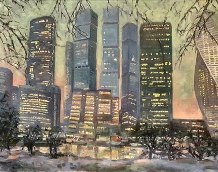 «Галс-Девелопмент» и арт-группа «Сезон» приглашают на выставку  «В городе М…Зима» - Фото