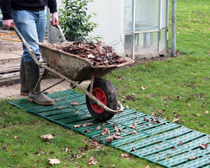 Удобная дача: садовые дорожки на даче своими руками - Фото