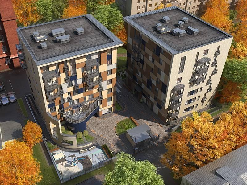 Новый формат жилья – малоэтажка в центре Москвы