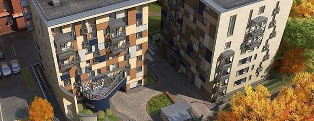 Новый формат жилья – малоэтажка в центре Москвы - Фото