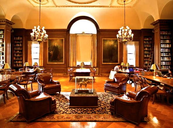 Книжный храм: самые роскошные библиотеки мира