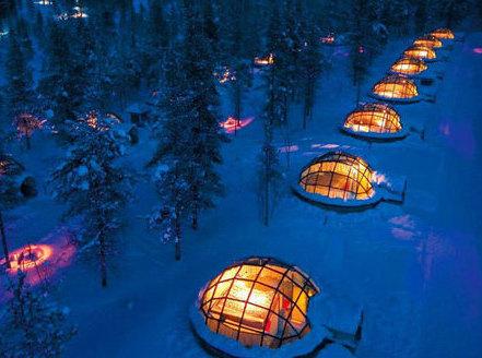 Царство вечной мерзлоты: самые впечатляющие постройки изо льда и снега
