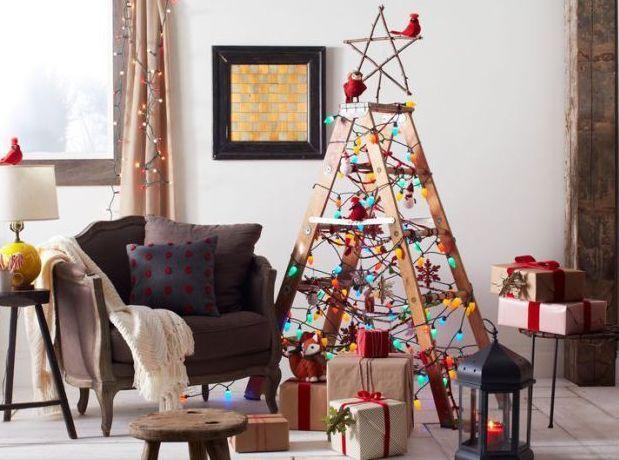 Креативный подход: самые необычные новогодние елки