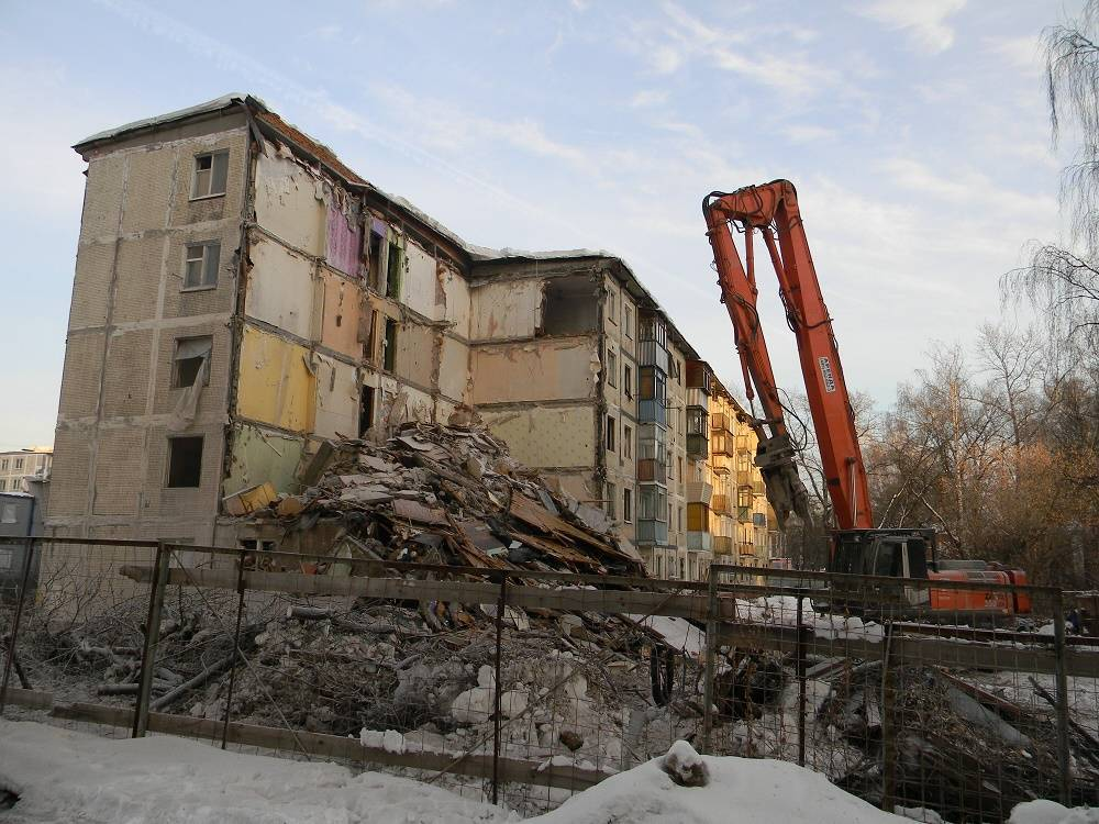 Ветхое жилье под снос