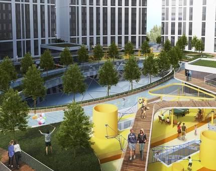 Бизнес-центр «Фили Град» на западе Москвы введён в эксплуатацию - Фото