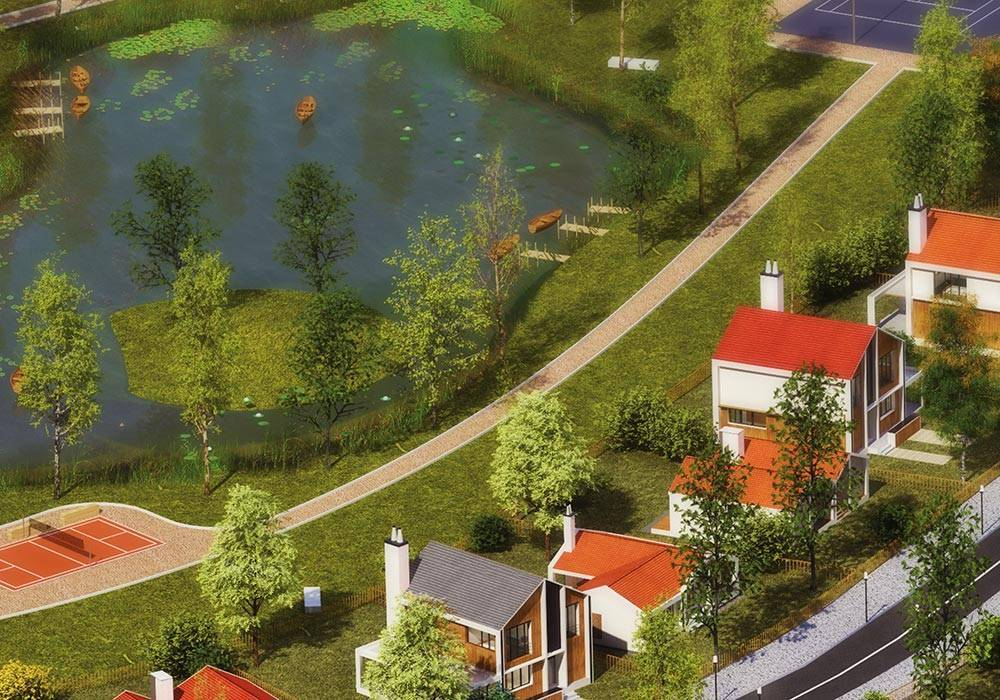 Европейский подход к загородной недвижимости