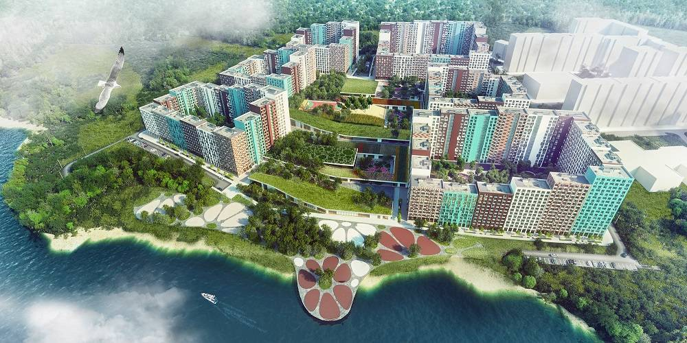 В ЖК «Эко Видное 2.0» реализована половина актуального предложения квартир