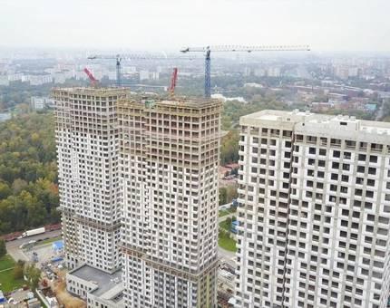 TEKTA GROUP: Последний «куб» бетона в ЖК «Маяковский» - Фото