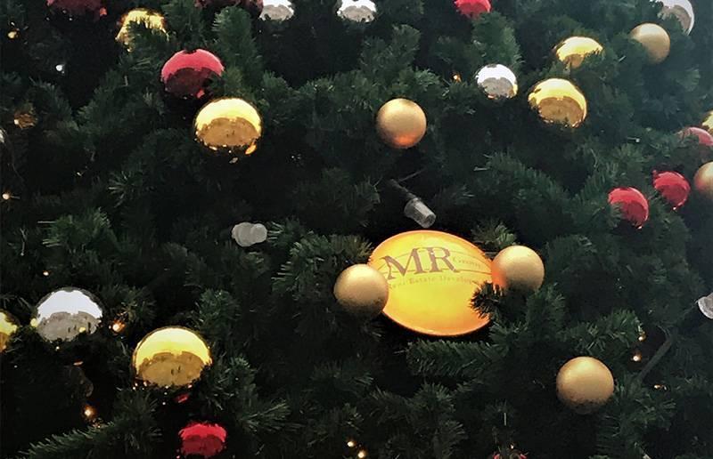 Ель MR Group украсила Триумфальную площадь Москвы к новогодним праздникам